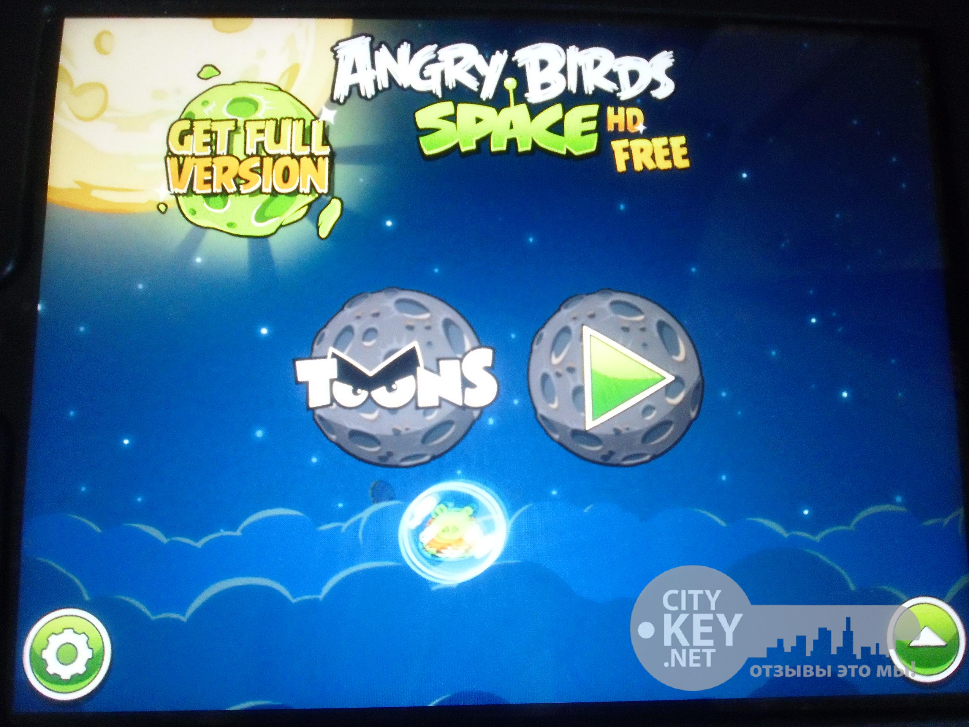 Андроид игра Angry birds space - YouTube