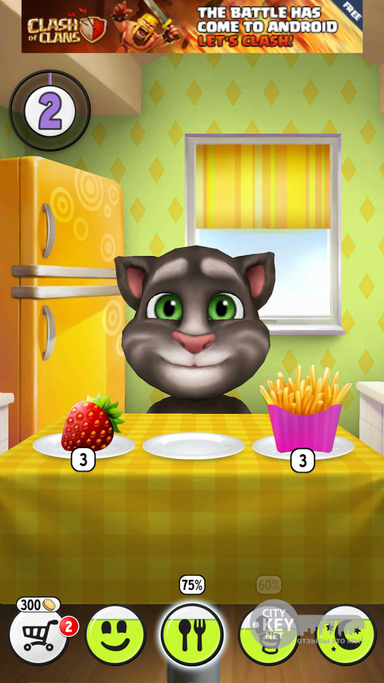 My Talking Tom - вырасти своего собственного …